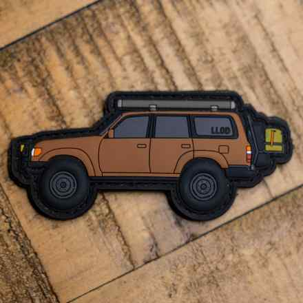 Overland Land Cruiser Patch